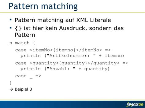 scala pattern matching by type scala xml