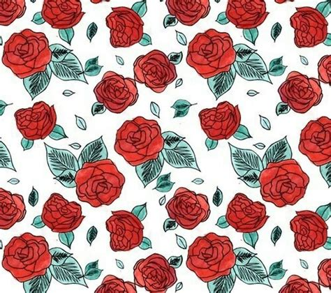 pink rose pattern clipart quot indie boho red rose floral aesthetic quot posters by