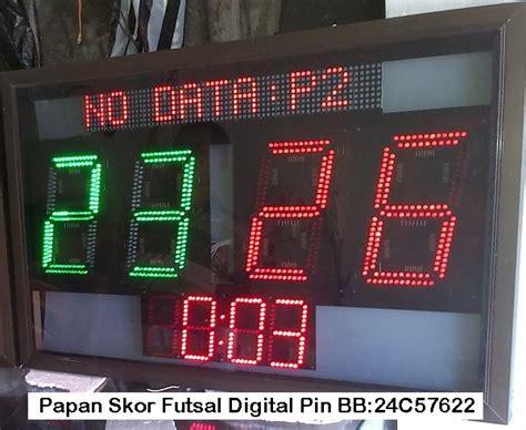 Papan Skor Digital Led papan skor futsal digital murah