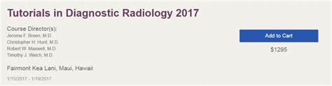 online tutorial radiology tutorials in diagnostic radiology 2017 allcongress