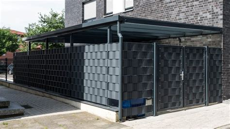 carport fahrradunterstand carports bewe stahl und metallbau