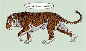 free lineart tiger by mikaley on deviantart