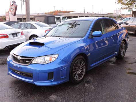 impreza subaru 2013 used 2013 subaru impreza sedan wrx wrx at auto house usa