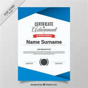 Certificate Template Vector Free by Abstract Certificate Template Vector Free