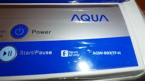 Mesin Cuci Aqua Duo mesin cuci aqua aqw 89xtf h