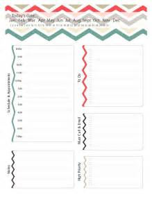 Online Daily Planner Template 40 Printable Daily Planner Templates Free Template Lab
