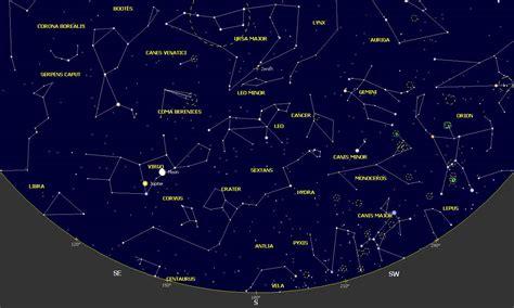 gua del cielo 2017 mapas celestes febrero 2017