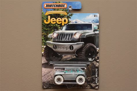 Diecast Matchbox Jeep Anniversary Edition Willys Silver matchbox 2016 jeep anniversary edition jeep willys concept