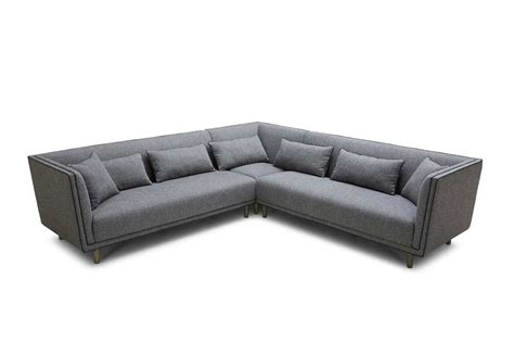 Grey Sectional Sofa by Grey Fabric Sectional Sofa Vg615 Fabric Sectional Sofas