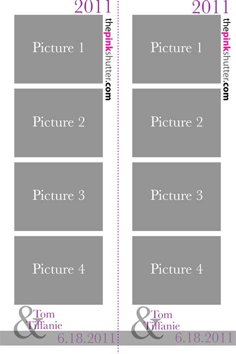 photo booth layout size fresh photobooth print layouts news pink shutter photo