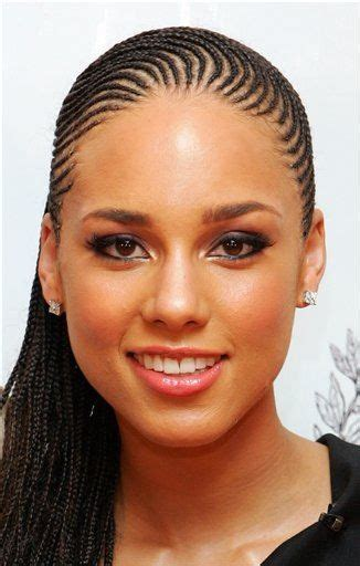 skinny cornrows alicia keys skinny braids braids twists pinterest