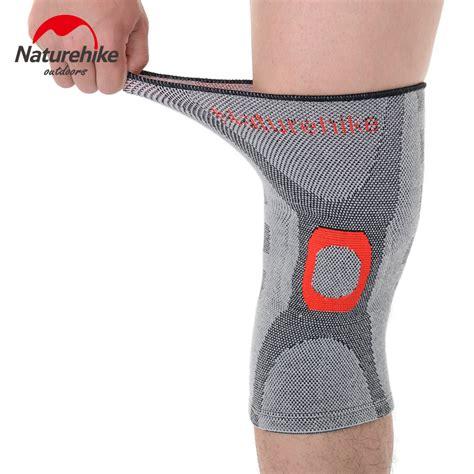 Naturehike Adjustable Kneepad Power Brace naturehike elastic knee support brace kneepad adjustable knee pads basketball safety