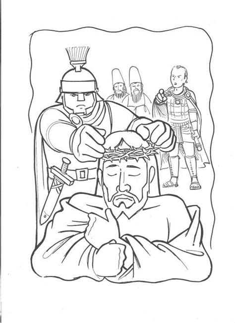 coloring page jesus arrested jesus arrested coloring page search sunday