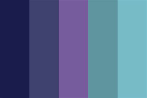 pisces colors pisces midnight sea color palette