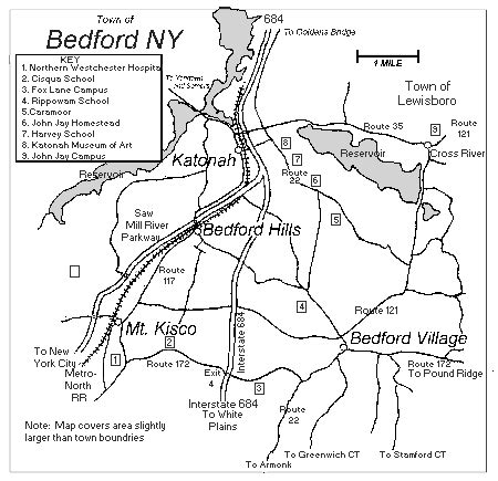 around and about bedford new york
