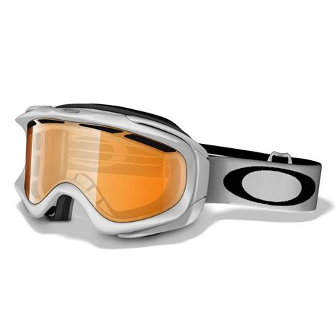 snow goggles oakley ambush snow goggles polished white persimmon