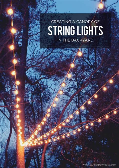 string lights backyard best 25 backyard string lights ideas on pinterest patio