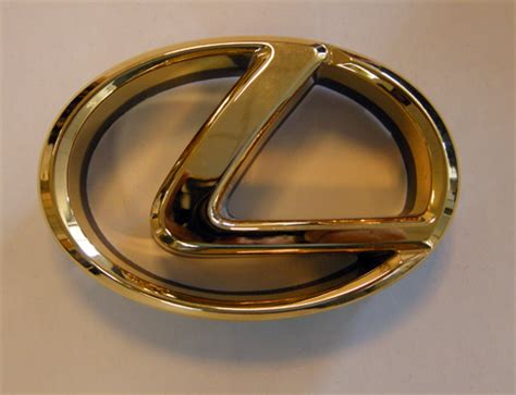 gold lexus logo lexus gold symbol