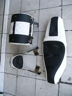 Tas Motor Honda Beat modifikasi jok motor paket tas honda beat pesanan mr