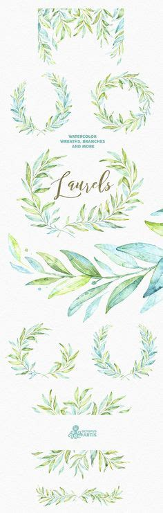 Laurel Wedding Clipart by 1000 Ideas About Laurel Wreath On Letter