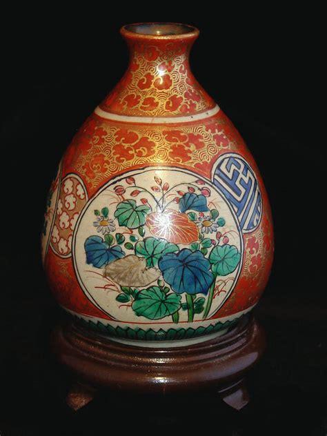 bulbous satsuma vase for sale antiques classifieds