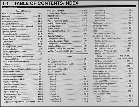 manual repair free 1999 lincoln continental auto manual 1999 lincoln continental wiring diagram manual original