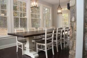 quot josh leg quot pedestal base farm table farmhouse dining wicker emporium jasper dining chairs nest of bliss
