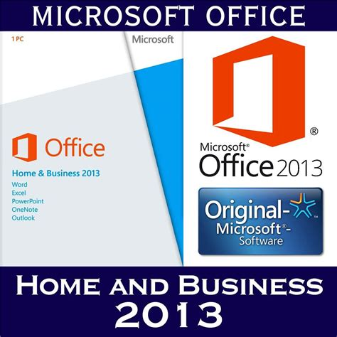 100 windows office home and business 2013 microsoft