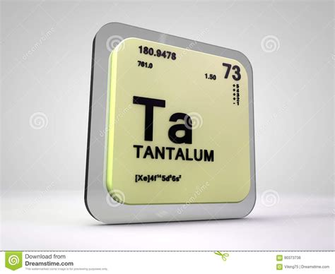 tantalum illustrations vector stock images