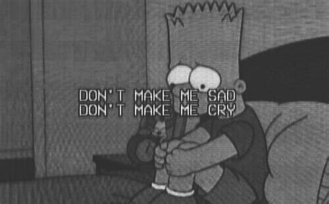 sad bart and tired image lo que me mueve pinterest frases bart simpson sad cry dreamin minds pinterest