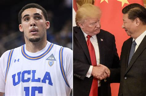 donald trump liangelo ball liangelo ball and ucla shoplifters stuck in china get an