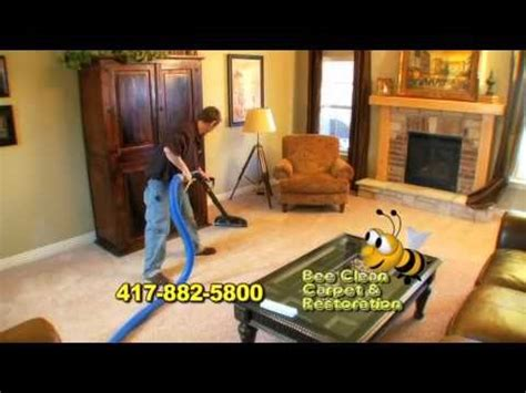 upholstery cleaning springfield mo bee clean carpet cleaning springfield mo youtube