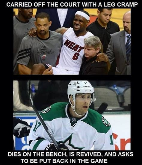 Soccer Hockey Meme - lebron vs hockey players meme s blowout cards forums