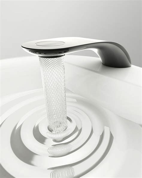 Water Conservation Faucets by Student S Faucet Design Saves Water By Swirling It Into