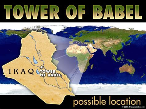 tower of babel genesis where was the tower of babel located returning to genesis