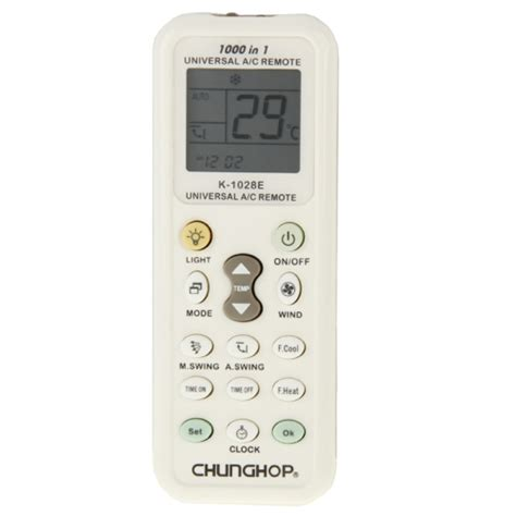 Remote Ac Multi Changhop sunsky chunghop k 1028e 1000 in 1 universal a c remote controller with flashlight white