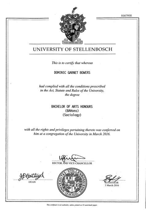 hons degree
