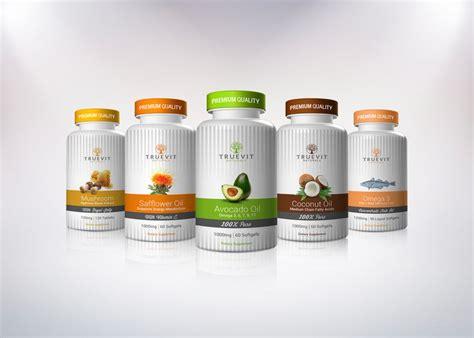 Design Milks New Shop Vitamin Design by Truevit Naturals Package Design Vitamin Dietary