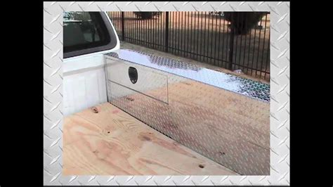 double wheel well tool box the pc series quot pork chop box quot truck toolbox storage over