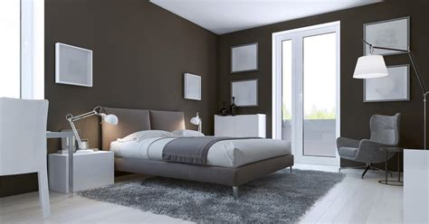 Couleur Mur Salon 5308 by Pomysł Na Sypialnię Styl Minimalistyczny