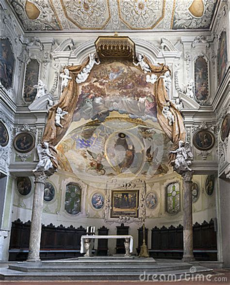 the early christian basilica santa restituta chapel in the naples cathedral editorial