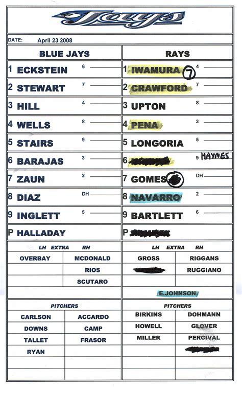 free baseball lineup card template dugout lineup card template best templates ideas