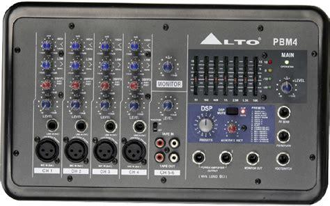 Mixer Power Alto alto professional legacy mixers series gt pbm4
