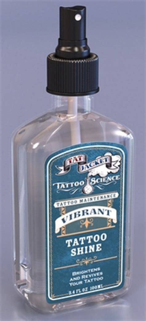 tattoo shine lotion tatjacket vibrant tattoo shine spray 3 4 oz