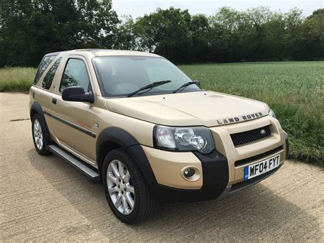 land rover freelander 2004 2004 land rover freelander td4 2 0 diesel 4x4 suv video