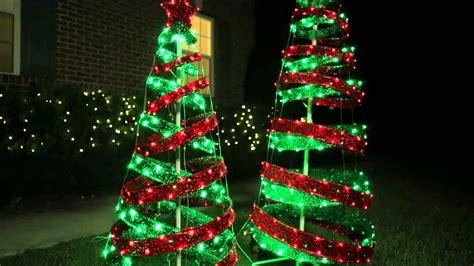 out door ribbon spursl trees green spiral tree outdoor decorations psoriasisguru