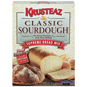 Bread Machine Bread Mixes Krusteaz Bread Machine Mix Supreme Classic Sourdough 14