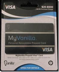 Vanilla Debit Gift Card - vanilla reloadables frequent miler