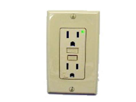 Gfci Receptacles In Kitchen by How To Wire A Single Gfi Outlet