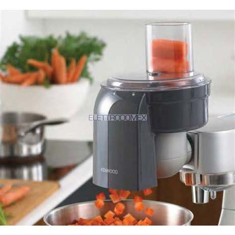accessori per robot da cucina kenwood kenwood kax400pl accessorio cubetti per chef sense e kmix